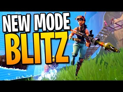 NEW FORTNITE BLITZ MODE GAMEPLAY! - Fortnite: Battle Royale Blitz Squads | TBNRKENWORTH