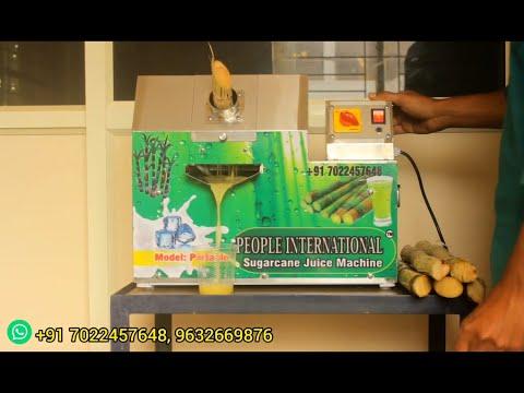 Sugarcane Juice Machine, Portable Type