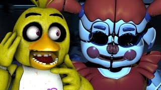 CHICA PLAYS: Sister Location (Night 5)    GETTING THE SCOOP ON CIRCUS BABY!