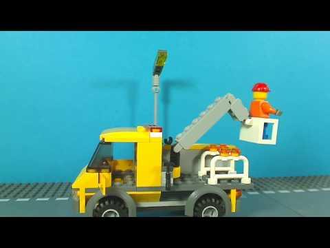 Vidéo LEGO City 3179 : Le camion de réparation