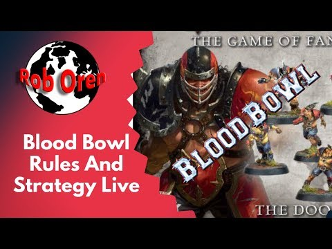 Blood Bowl Rules And Strategy Live