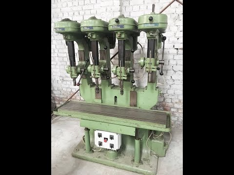 Gang Drilling Machine