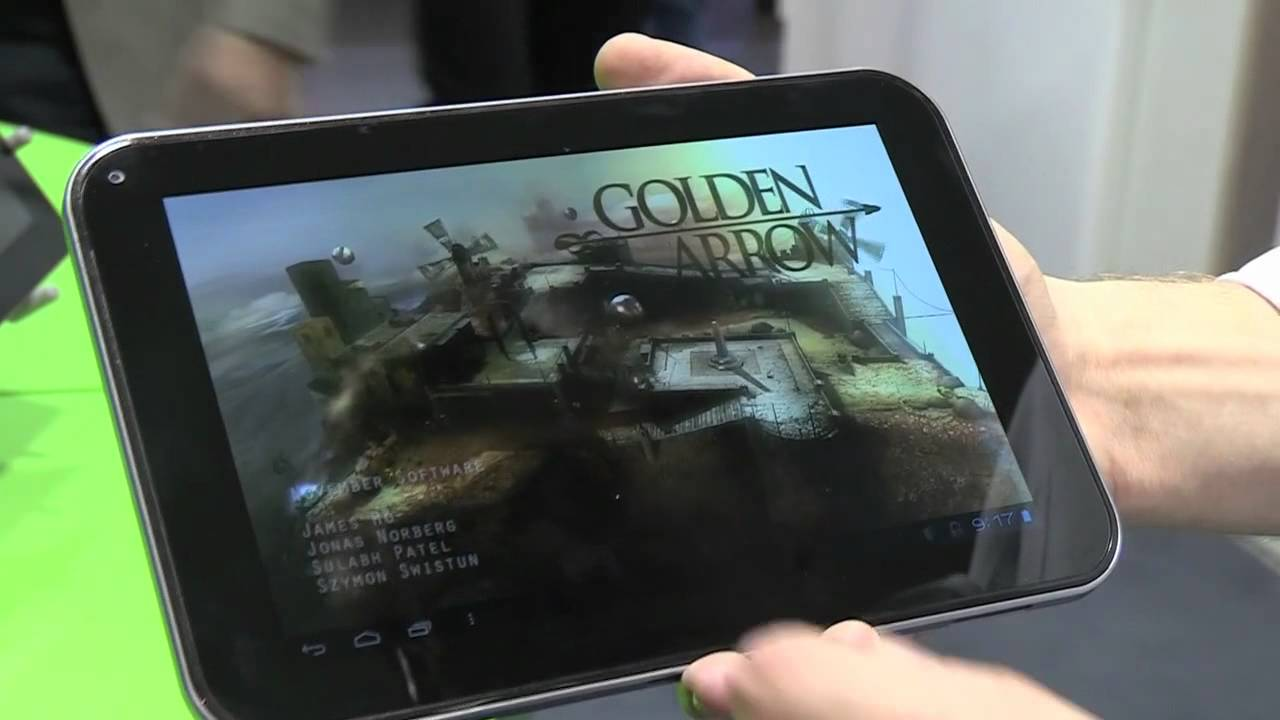 Toshiba 7.7 Tegra 3 tablet hands-on thumbnail