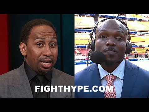 TIMOTHY BRADLEY IN HEATED DEBATE ABOUT PACQUIAO'S LOSS TO JEFF HORN; STEPHEN A. SMITH GRILLS HIM