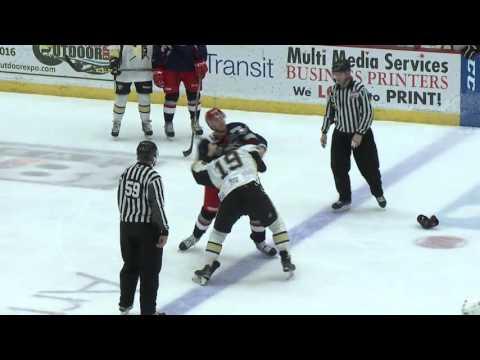 Garrett Klotz vs. Shane Bakker