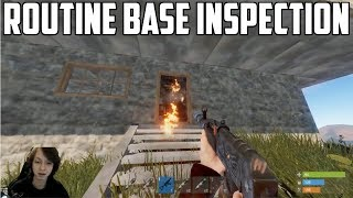 RUST - ROUTINE BASE INSPECTION