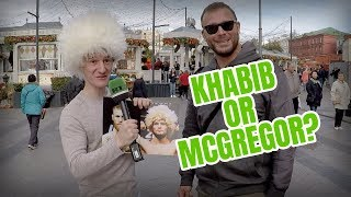 Conor McGregor v Khabib Nurmagomedov: Who do YOU think will win?