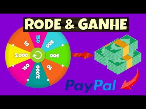 Gire e Ganhe - Ganhe Dinheiro no Paypal Girando a Roleta (Money no paypal)
