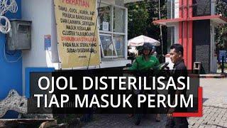Cerita Driver Ojol di Bogor Harus Disterilisasi saat Masuk Kompleks: Buat Kebaikan Bersama