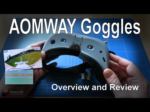 Aomway VS Fatshark | OMG NEW BEST FPV GOGGLE? Aomway commander