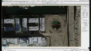 3ds Max Tutorial - Google Earth Capture - Site With Textures - Fast Context Model Generation