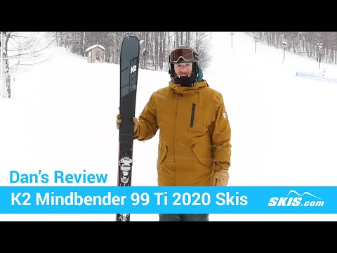 Video: K2 Mindbender 99 TI Skis 2020 5 45