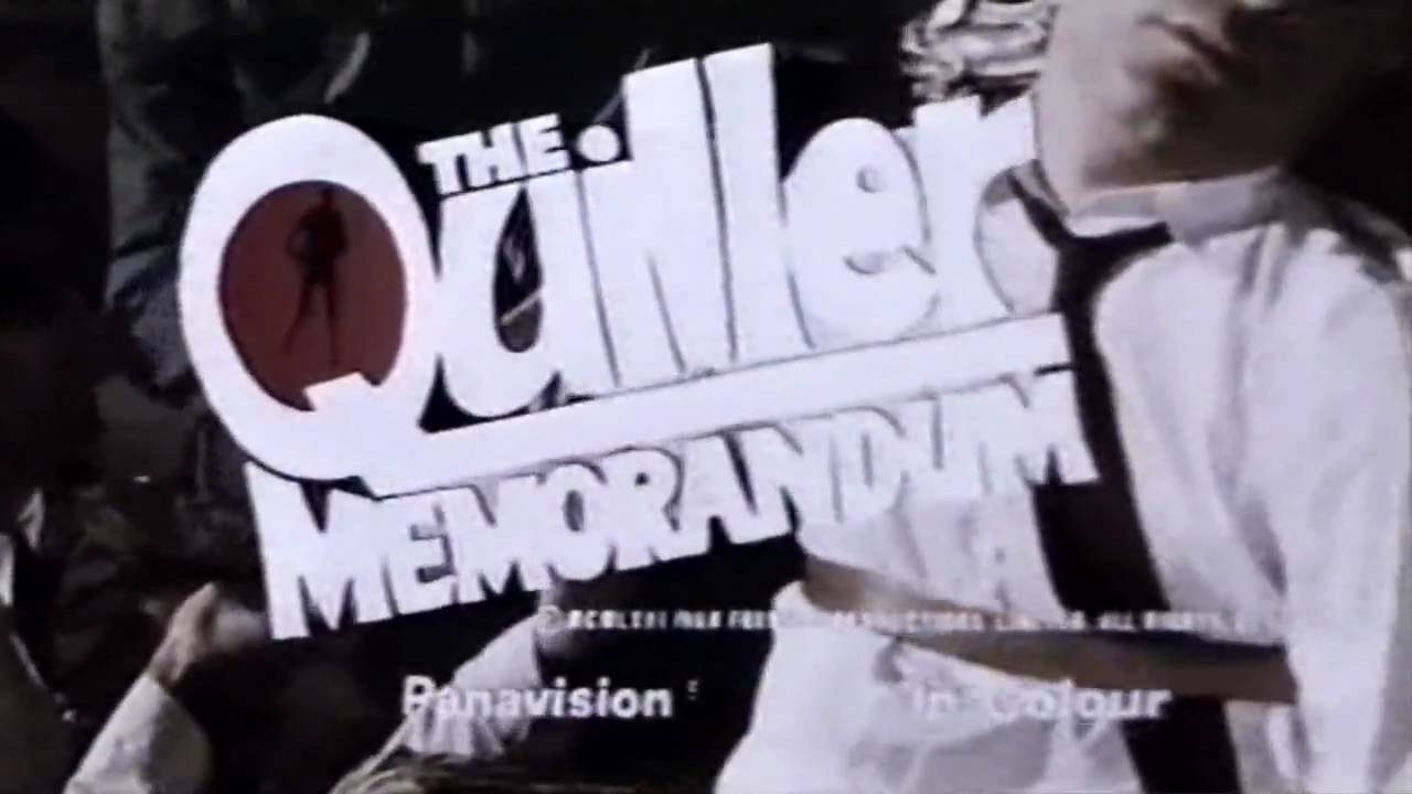 Trailer för The Quiller Memorandum