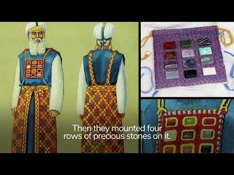 Exodus 39:1-31: Material For Priestly Garments | Bible Stories