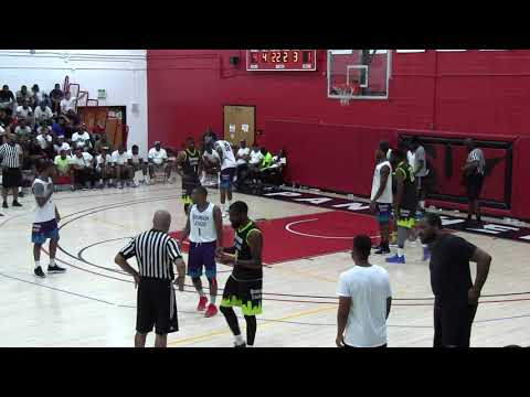 Team Dream vs Sams Ballers 2nd Qtr- 2018 Brunson League Playoffs Quarterfinals @BCCC