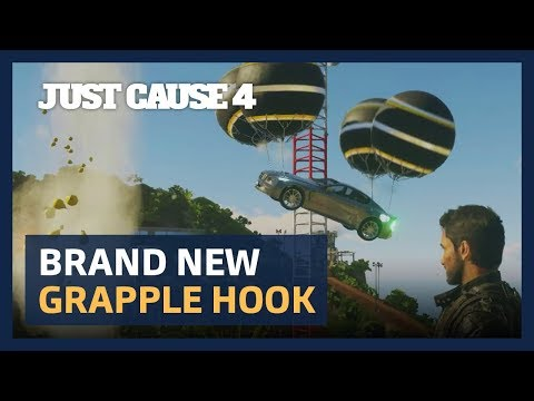 Just Cause 4: Brand New Grapple Hook [ESRB] thumbnail
