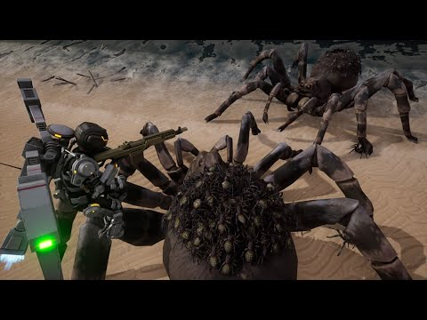 Earth Defense Force: Iron Rain - Official Trailer #2