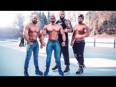 Können Bodybuilder Eislaufen?