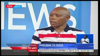 Aspirant Maina Njenga claims why he is the right person for the Laikipia senate seat