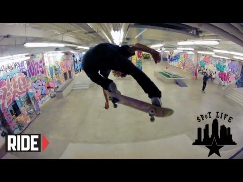 Stevie Williams' Playground in ATL and a Skateboard Road Trip to Atlanta: SPoT Life Episode 11