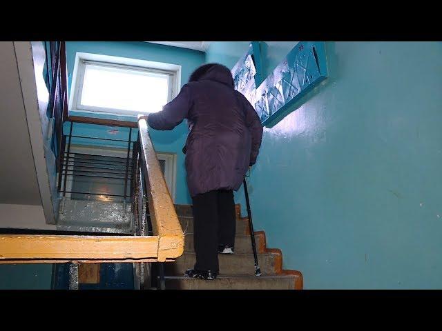 Неисправный лифт отрезал от мира пожилых ангарчан