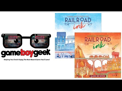 The Game Boy Geek Reviews Railroad Ink