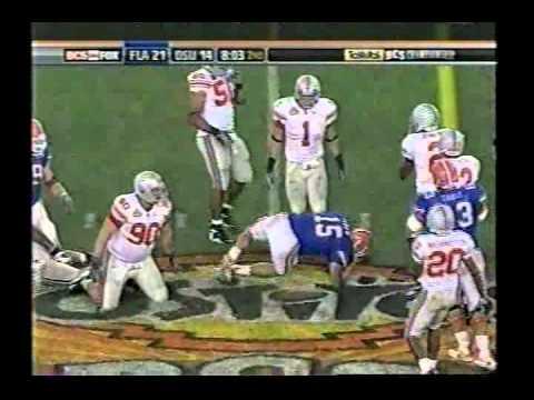 2007 BCS National Championship #2 Florida vs. #1 Ohio St.
