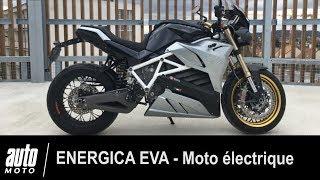 Energica Eva - Moto électrique - ESSAI POV Auto-Moto.com