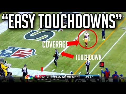 Easiest Touchdowns in NFL History || HD