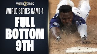 Full Bottom 9th of World Series Game 4! (Rays try to come back on Dodgers!)