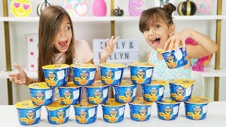 Don't Choose the Wrong Mac & Cheese Slime Challenge!