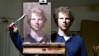 Ewan McClure self-portrait time-lapse