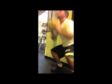 Medicine Ball Squat Throws