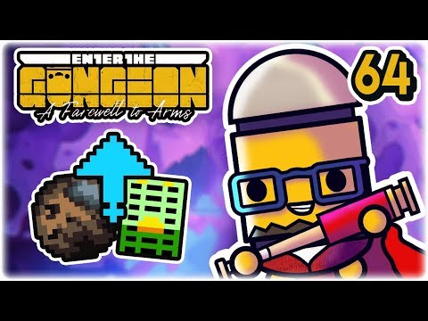 Melted Rock Synergy | Part 64 | Let's Play: Enter the Gungeon: Farewell to Arms | PC HD
