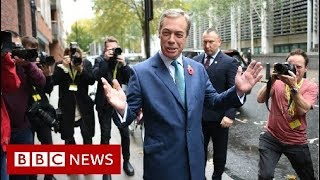 UK Election: Prime Minister Rejects Farage Brexit Pact   BBC News