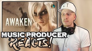 Music Producer Reacts to Awaken (ft. Valerie Broussard) | League of Legends
