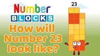 How will Numberblock 23 look like? | Playtime Club TV