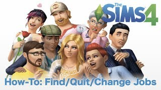 How to Find, Change and Quit Jobs // Bite Size How-To // Learn to Play The Sims 4 PC // Part 12