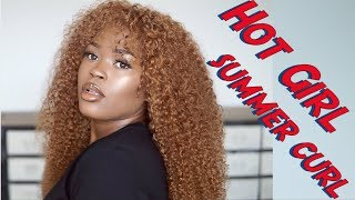 How To | Hot Girl Summer Carefree Curls Ft Isee Hair