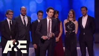 La La Land Wins Best Picture  22nd Annual Critics Choice Awards  A&E