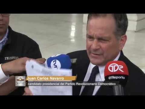 Navarro enfrenta siete denuncias por supuesta violación a la veda electoral
