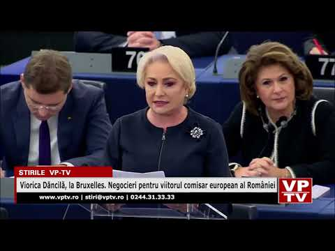 Viorica Dăncilă, la Bruxelles. Negocieri pentru viitorul comisar european al României