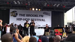 2013 07 13 Brooklyn Hip Hop Festival EPMD and DJ Scratch cutting - Rampage - Crossover - Music