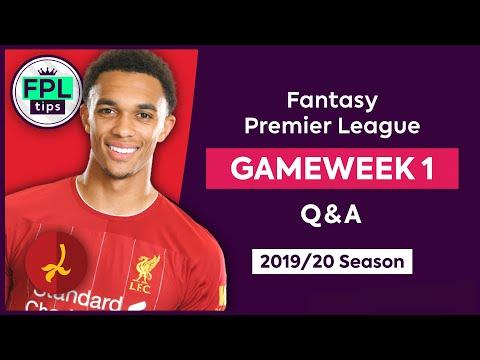 GW1: FPL Q&A | Alexander-Arnold or van Dijk? | Gameweek 1 | Fantasy Premier League Tips 2019/20