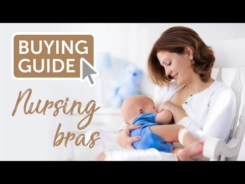 Nursing bra demos