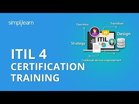 ITIL 4 Certification Training| What Is ITIL Certification?| ITIL Tutorial ...