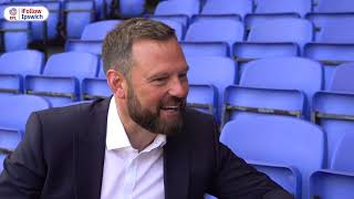 NEW CEO MARK ASHTON'S FIRST INTERVIEW