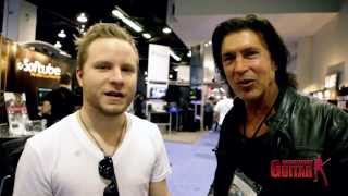 Zach Myers Talks to George Lynch and Dangerous Guitar at NAMM 2014