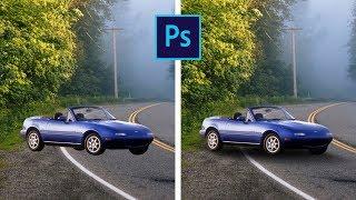 Как добавить тень в фотошопе