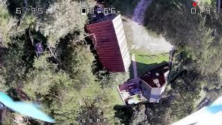 Shark Byte freestyle (200 mW test flight--watch in 4k!)